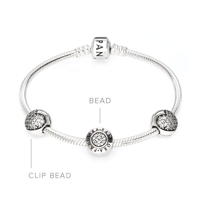 pandora clip bracelet charms