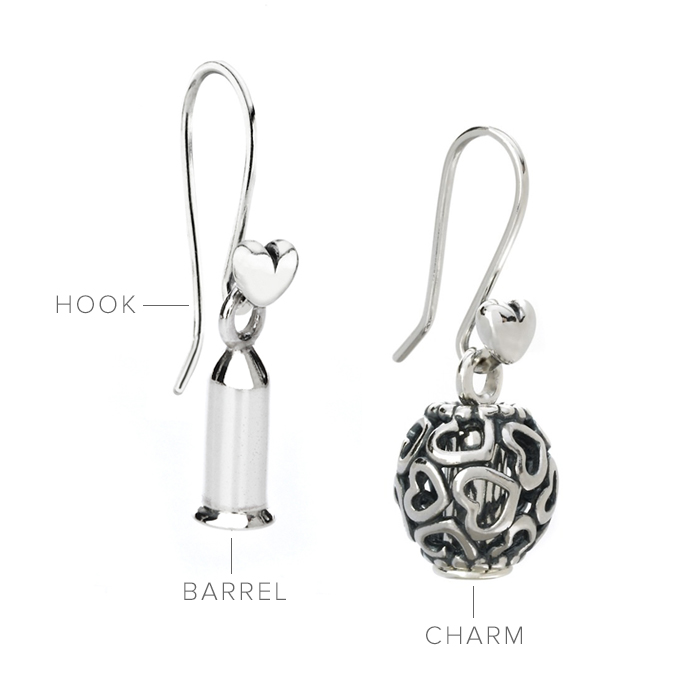 Pandora Compose Earrings: Pandora Getting Started At John Greed Jewellery