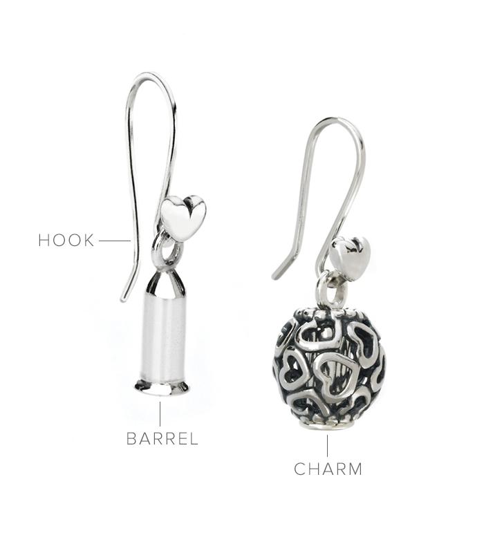 Pandora Charm Earrings